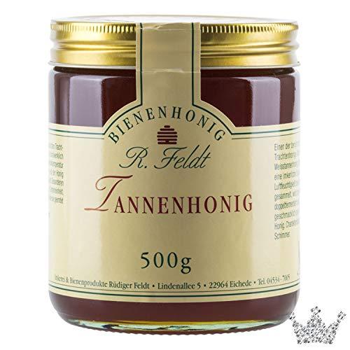 Tannen Honig, grünlich-schwarz, flüssig, herb, 500g