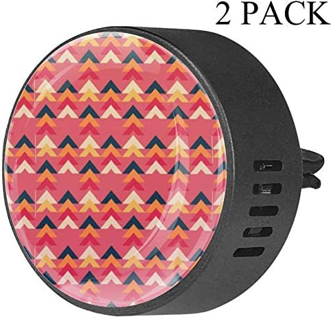 Zig Zag Shapes Patterns Car Diffuser Aromatherapy Essential Oil Diffuser Vent Clip Air Freshener product image