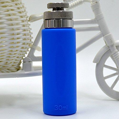 RUIYITECH 510 Thread 30ml Refill Bottle Refill E Liquid Bottles for Squonk Bottom Feeder Mod Squonk Mods Bottom Feeding ecigs vape mod (Blue)