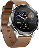 Honor MagicWatch 2 Smart Watch,1.39' AMOLED 5ATM Waterproof 14 Days Standby Smart Bracelet with Bluetooth Calling, 46mm Fitness Tracker Activity Tracker with Blood Oxygen Heart Rate Stress Monitor