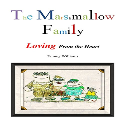 The Marshmallow Family audiobook cover art