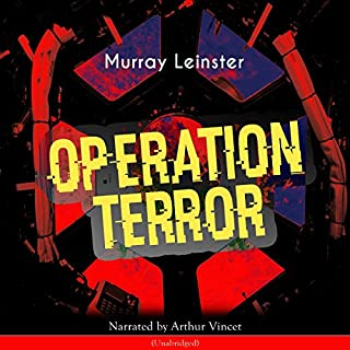 Operation Terror audiobook cover art