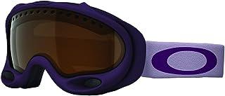 Oakley A Frame Grape Wine Adult Ski Snowmobile Goggles - Black Iridium/One Size