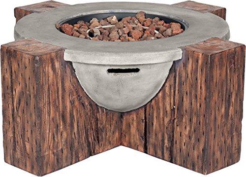 Clifton Gaskamin Special Bowl Garten Gasofen Heizpilz Feuerstelle Terrassenkamin Kamin
