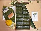 【奈良名物】【よしの弁天屋】柿の葉すし 14個入り(鯖7鮭7)
