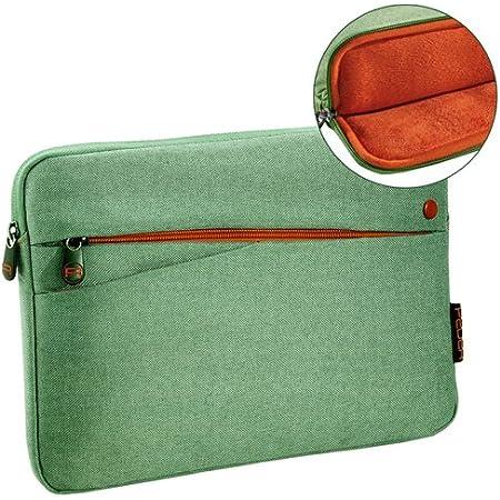 Pedea Tablet Pc Tasche Fashion Für 10 1 11 Zoll 25 6 27 96 Cm Schutzhülle Etui Case Mit Zubehörfach Grün Elektronik