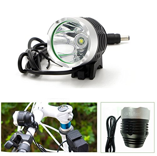 RioRand 4 Mode 1200 Lm Cree Xml T6 Bulb LED Bicycle Bike Headlight Lamp Flashlight Light Headlamp