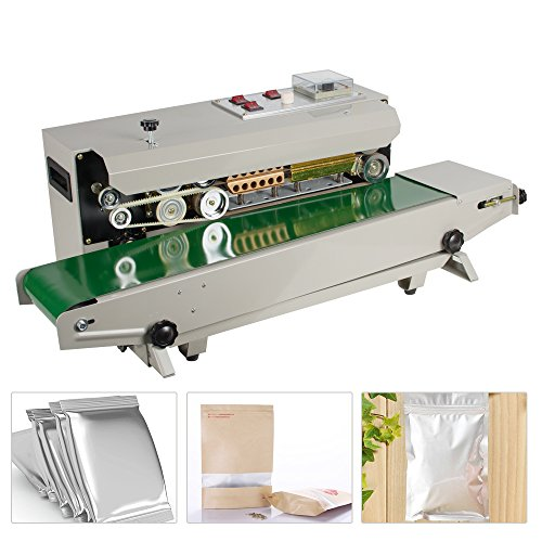 Affordable zorvo Continuous Sealing Machine Automatic Horizontal Continuous Plastic Bag Band Sealing...