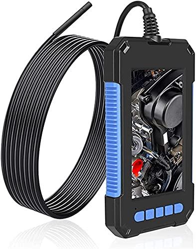 Kettles Videocamera Endoscopio 1080P HD 4.3 IPS Screen Tubo Drain Drein Duct Duct Controllo Telecamera Impermeabile 2600mAh per Auto fognatura ispezione Strumento di Pulizia della (Size : 2M)