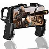 BESTZY PUBG Mobile Game Controller - Mando Joystick Movil Gamepad Gatillos para Movil PUBG,...