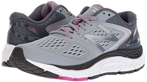 New Balance Women's 840 V4 Running Shoe, Light Grey, 8 D US 5