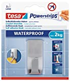 tesa Powerstrips Waterproof Haken Zoom Metall -