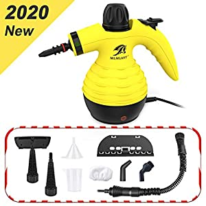 MLMLANT Multi-Purpose Handheld Pressurized Steam Cleaner with 9-Piece Accessory Kit for Multi-Surface Stain Removal, Floor Steamer, Window, Counters, Carpets, Car Seats, Upholstery