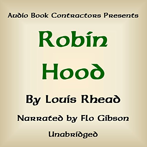 Robin Hood audiobook cover art