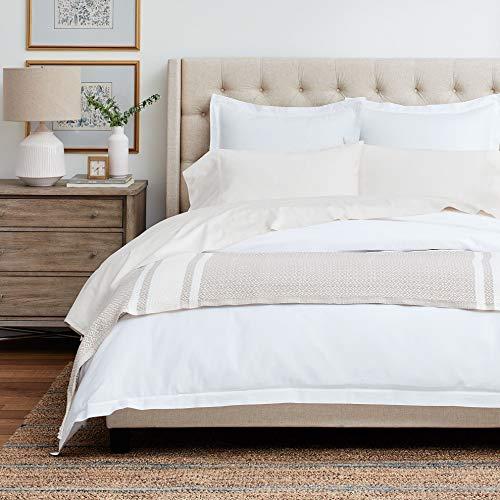Boll & Branch Luxury Fair Trade Long Staple Organic Cotton Sheet Set - Full, Natural