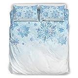Twelve constellations Juego de ropa de cama suave y ligera para todo el año, 3 piezas, para toda la temporada, color blanco, 229 x 229 cm