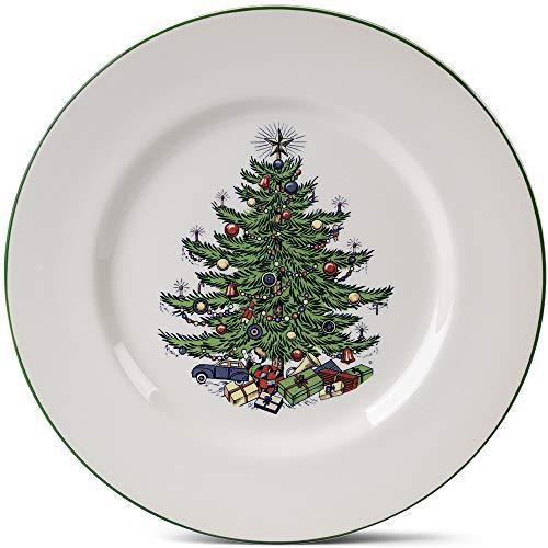 Original Christmas Tree Traditional Salad Plate, 8 1/4', Set of 4