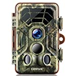 Campark Wildlife Trail Camera 14MP 1080P IP66 Waterproof Game Camera Motion Activated Night Vision IP66 Waterproof for Hunting and Home Security