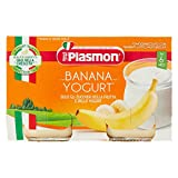 Plasmon Omogeneizzato, Merenda Banana e Yogurt, 2 x 120 g...