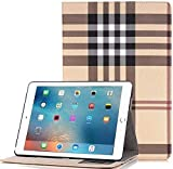 TechCode iPad Pro 12.9 inch Case Cover, Screen Protective Luxury Book Style Folio Case Stand with Card Slots Magnetic Smart Case Cover for iPad Pro 12.9 inch 1st Gen 2015/ 2rd Gen 2017 Tablet, A02