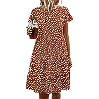 Angashion Women's Summer Tunic Dress