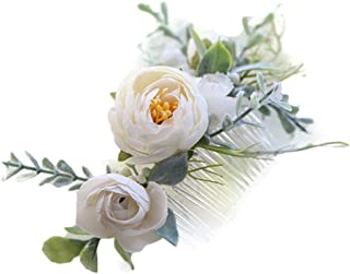 floral hair pieces for weddings