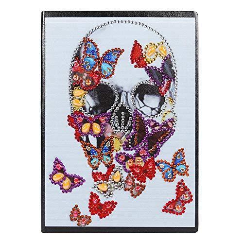 DIY Diamante Pintura Cuaderno Cuaderno de bocetos Bloc de notas Kit de...