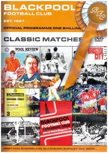 Blackpool FC - Classic Matches [DVD]