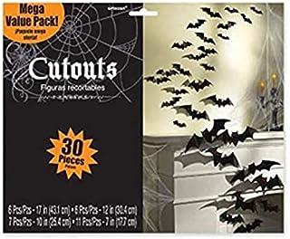 Amscan Cemetery Bat Cutouts | Halloween Decoration