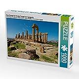 Hera-Tempel im Tal der Tempel Bei Agrigento 1000 Teile Puzzle Quer