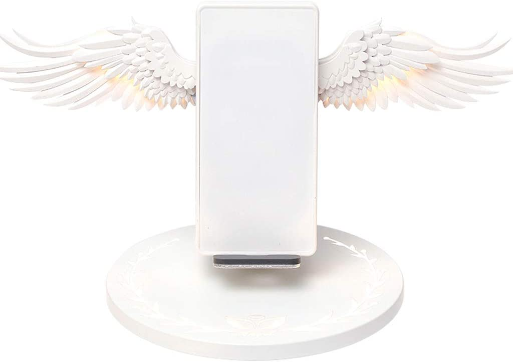 QINREN Universal 10W Angel Wings Charger Max 56% Free shipping on posting reviews OFF Power Fast Wireless Ada