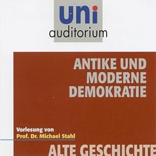 Antike und die moderne Demokratie Titelbild