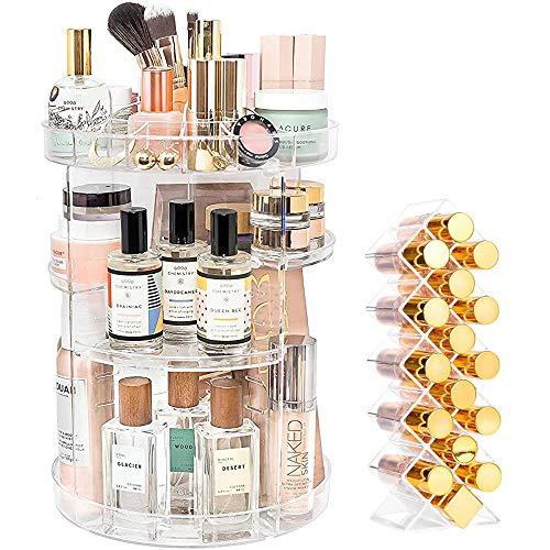 YIEZI Makeup Organiser 360 Degre...