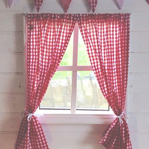 Fenster-Vorhänge - inklusive Befestigungsmaterial