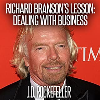 Richard Branson's Lesson cover art