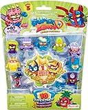SuperThings Serie 3, Blíster con 10 Figuras, PSZ3B016IN00, 1 Figura Dorada y 9 Figuras Regulares