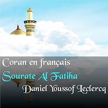Sourate Al Fatiha (Coran en français)