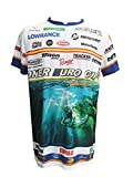 Camiseta DE Pesca BLAC Bass Especial Campeonato SONER Euro Cup (T.M)