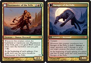 Magic: the Gathering - Huntmaster of the Fells // Ravager of the Fells - Dark Ascension