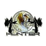 Raptor Hunting Solutions Etiqueta engomada del Coche Perro de Caza 15 cm х 9,8 cm calcomanía de Vinilo Setter Inglés