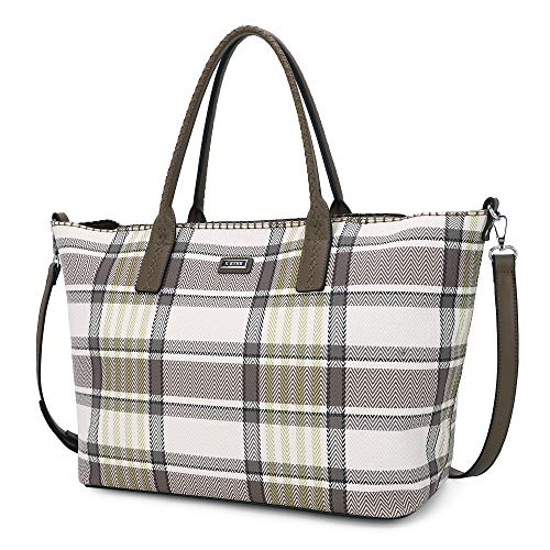 K.EYRE Purses and Handbags for Women Large Shoulder Tte Satchel Purse Work Bags with with Purse Organizer Insert