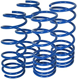 For Honda Prelude S Si Type-Sh Bb2-Bb6 Suspension Racing Coil Drop Lower Lowering Sport Spring Kit Blue