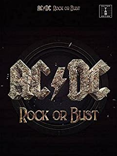 AC/DC Rock Or Bust Guitar TAB Book by AC/DC (1-Jan-2015) Paperback