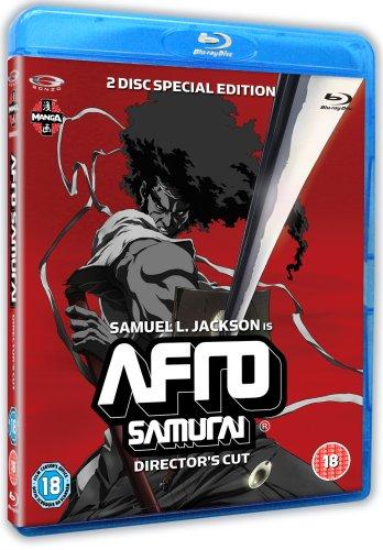 Afro Samurai [Blu-ray] [2006] [Reino Unido]