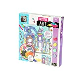 DIAMANTINY- Nice Group Crystal Art Principessa Sirena (M) Diamond Painting Kit Completo, 02052B