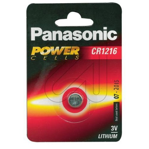 Panasonic pile lithium cR1216L/1BP