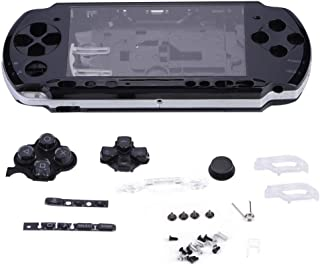 fosa Replacement Full Housing Console Game Shell Case Cover Back Repair Parts for PSP 3000/PlayStation Portable 3000 Syste...
