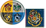 Harry Potter Birthday Party Plates And Napkins Set - Serves 8