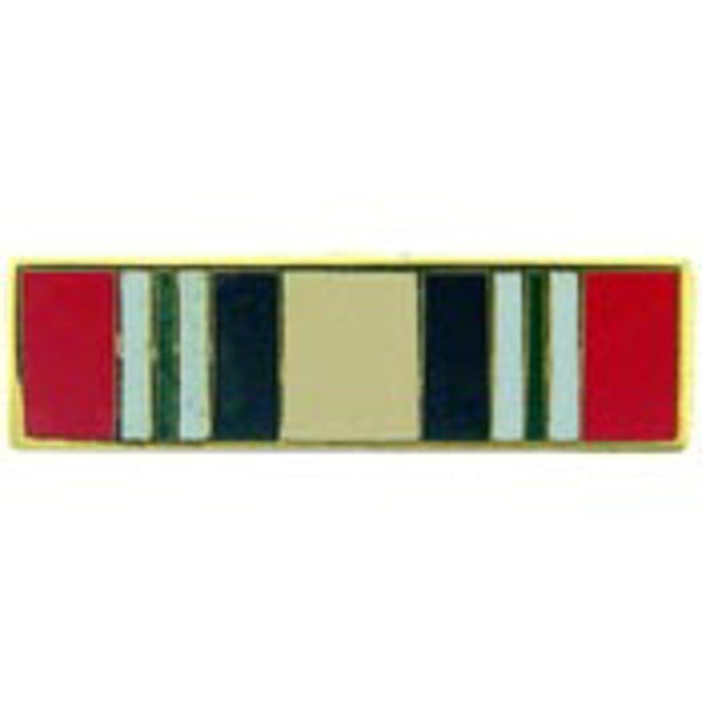 EagleEmblems P14422 Pin-Ribb,Iraq Campaign (Sml) (11/16'')