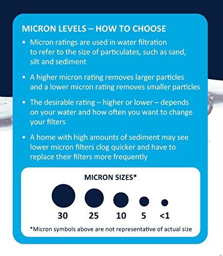 EcoPure EPW2F Premium Fact Universal Whole Home Filter (2 Pack), Dark Gray/Black